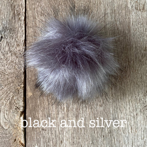 Faux Fur Mini PomPom