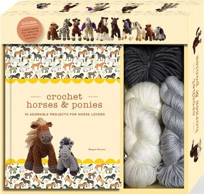 Crochet Horses and Ponies Kit