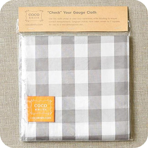 Coco Knits Check Your Gauge Cloth