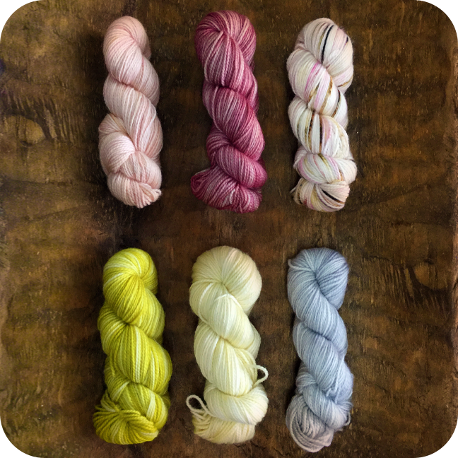 Backyard Fiberworks Mini Skein Pack