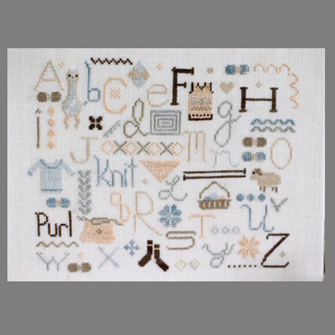 October House Cross Stitch Pattern