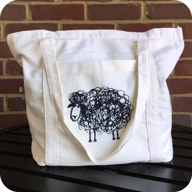 Trailhead Yarns Tote