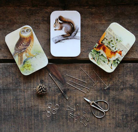 Woodland Friends Notions Tin