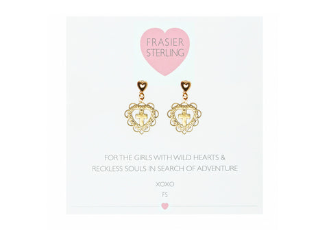 Good Girls Go To Heaven Earrings