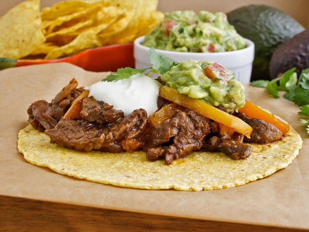 Skillet Fajitas Recipe with Mesquite Fajita Mix