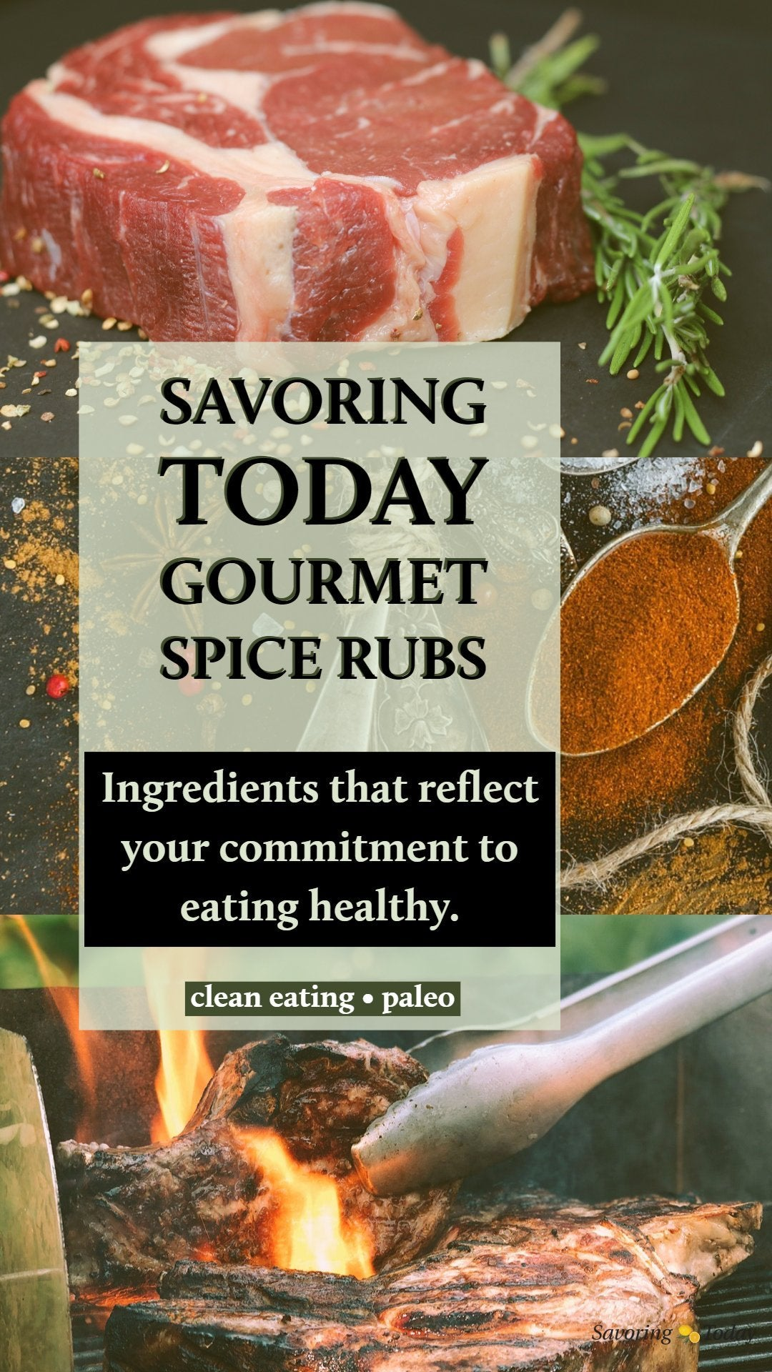 Smoked Chile Steak Rub - Savoring Today Store