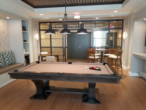 Commercial Billiards Room