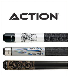 Action Billiard Cue