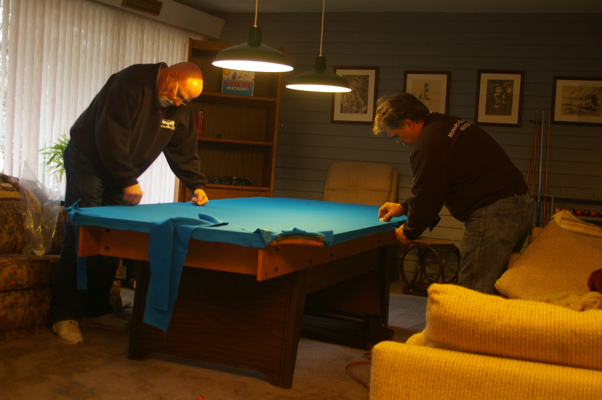 Pool Table Services ReClothing Moving Replacement Restoration - Pool table movers philadelphia