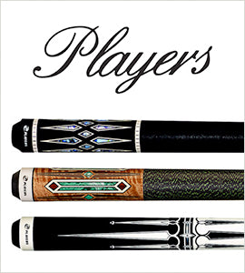 Players Billiards Cue