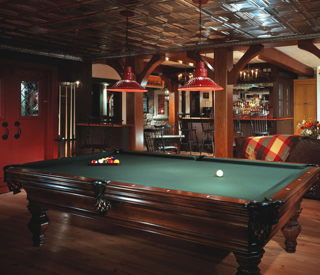 Billiard Rooms: Award Winning Billiard Rooms