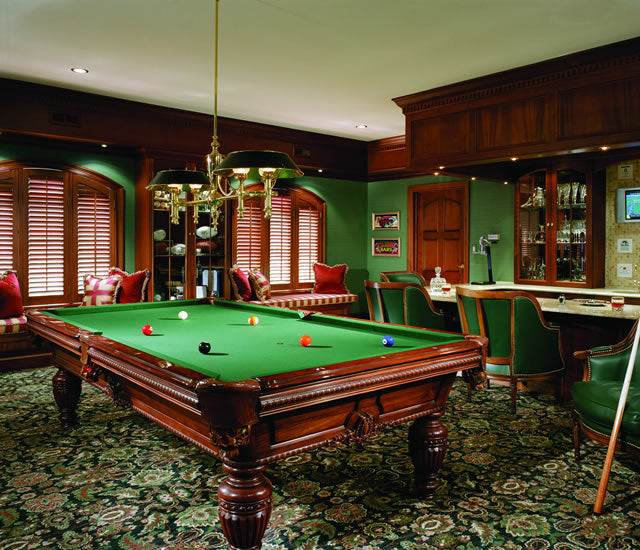 Award Winning Billiard Rooms Monarch Billiards