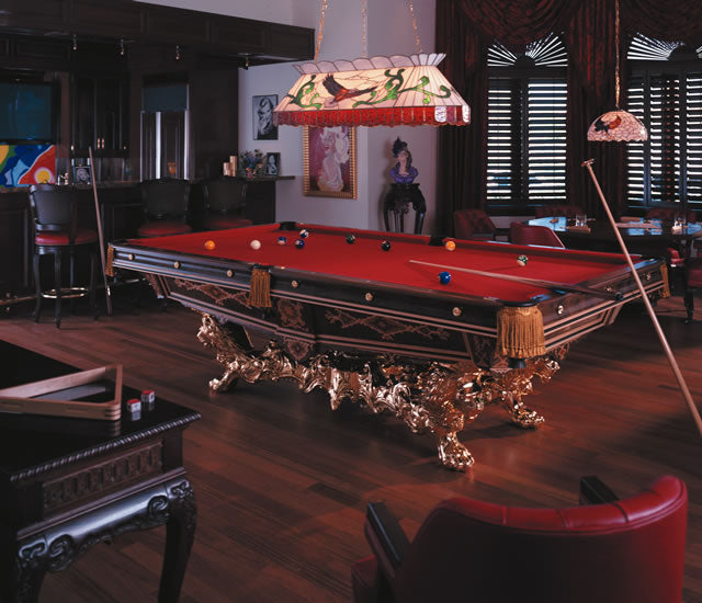 Paradise Billiards Table