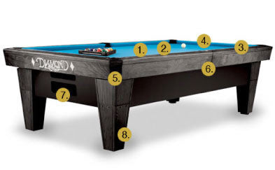 Pro Am Pool Table