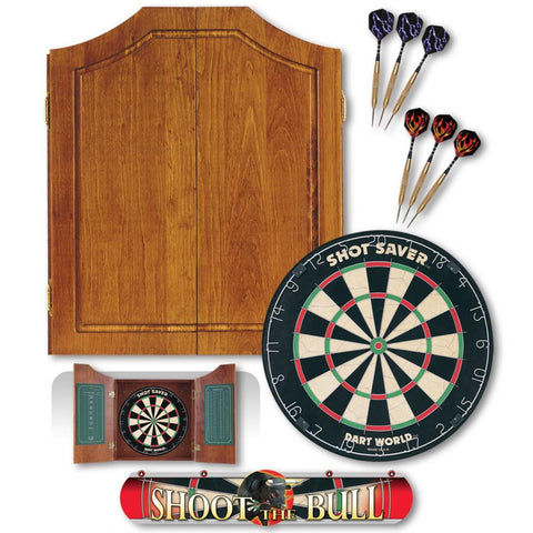 Early American Dart Cabinet Kit - Darts - 1