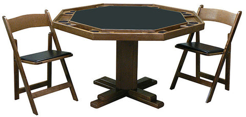 Kestell Pedestal Poker Table - Poker Table