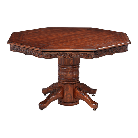 Chateau Poker Dining Table w/ Bumper Pool