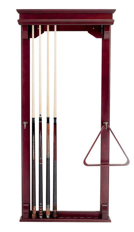 10 Cue Wall Rack