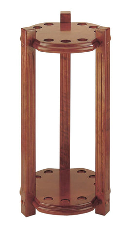 9 Cue Heavy Duty Round Floor Rack