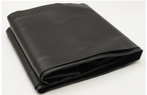 Black Naugahyde Fitted Pool Table Cover - Accessory - 1