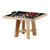 El Dorado Poker Dining Table w/ Bumper Pool