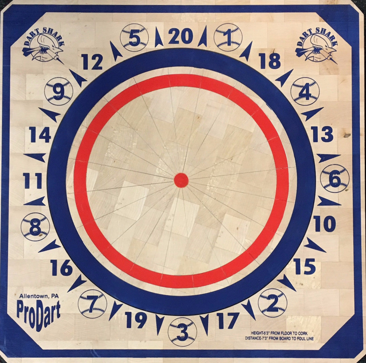 American Style Dartboard Monarch Billiards Dart Boards
