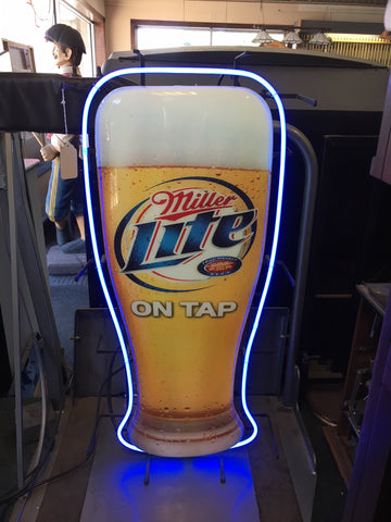 Miller Lite On Tap Neon Sign