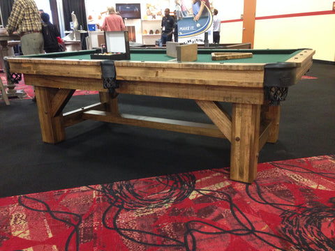 Fabulous Timber Ridge Pool Table Beutiful Home Inspiration Xortanetmahrainfo