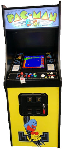 Pac-Man Original Style Cabinet Stand Up 60 Games