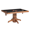 Monaco Poker Dining Table w/ Bumper Pool
