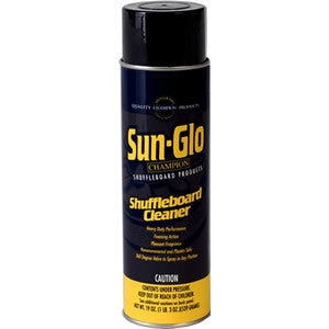 Sun-Glo Shuffleboard Spray Cleaner - Accessory