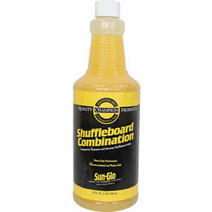 Sun-Glo Shuffleboard Combination Cleaner/Polish - Accessory