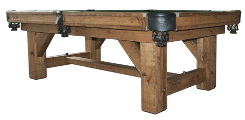 Olhausen Pool Tables Rustic Collection Breckenridge - Olhausen breckenridge pool table