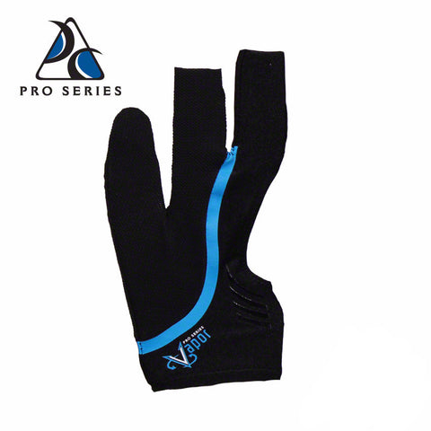 Cool Edge Fingerless Billiard Glove Blue