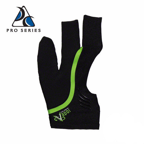 Cool Edge Fingerless Billiard Glove Green