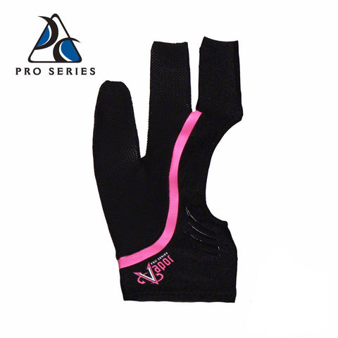 Cool Edge Fingerless Billiard Glove Pink