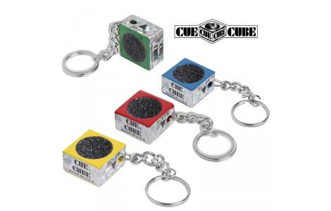Cue Cube Color Key Chain