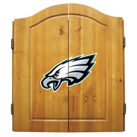 Philadelphia Eagles Dart Cabinet Set