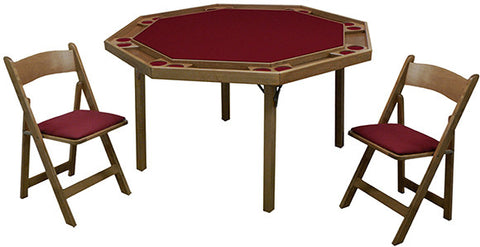 Kestell Folding Poker Table - Poker Table