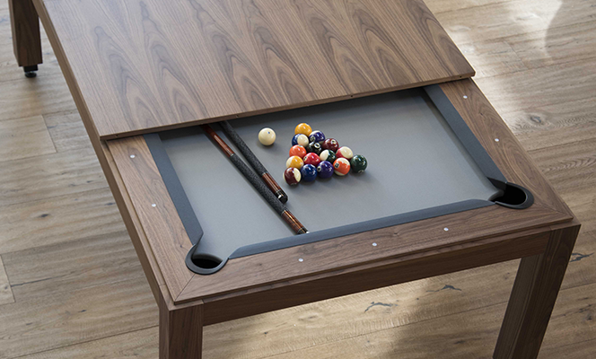 Fusion Billiards Table Dining Top Style Pool Tables