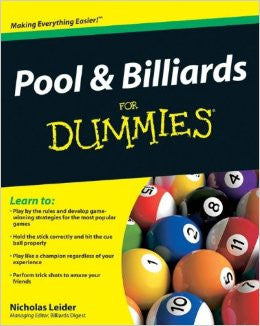 Pool & Billiards for Dummies Book - Accessory