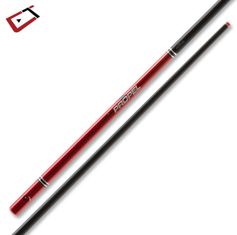 Cuetec Cynergy Propel Jump Cue Ruby Red
