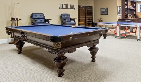 9ft Custom Pre-Owned Tamanny Hall Pool Table