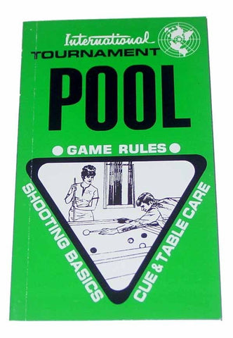 International Tournament Pool Game Rules Book - Accessory
