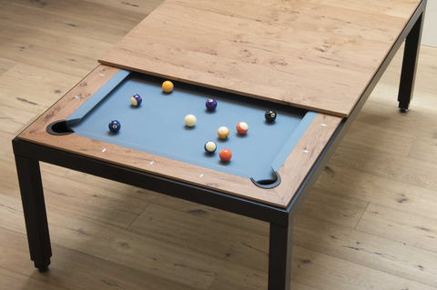Fusion Vintage Pool Table - Pool Table - 1