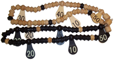 Wooden Scoring Beads - Accessory
