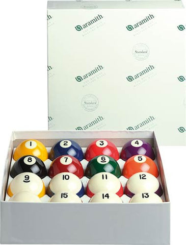 Aramith Crown Standard Billiard Ball Set - Billiard Ball Set