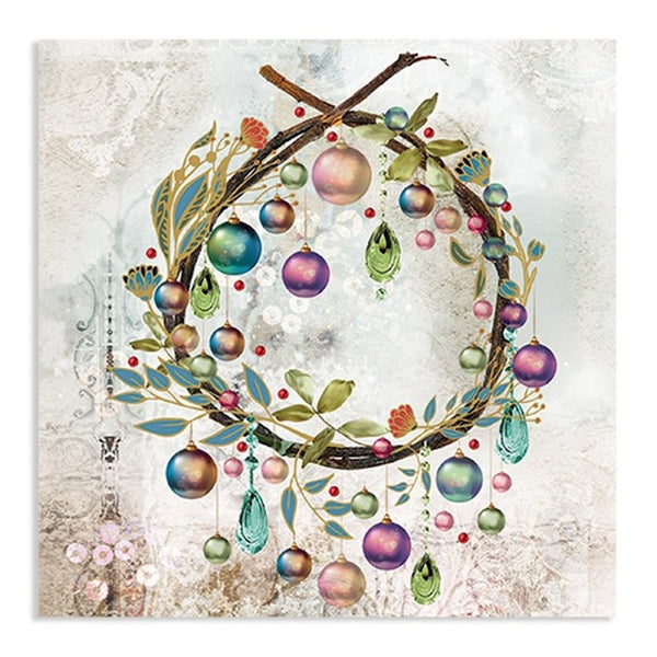 Wreath Paper Napkins - Holiday / Christmas