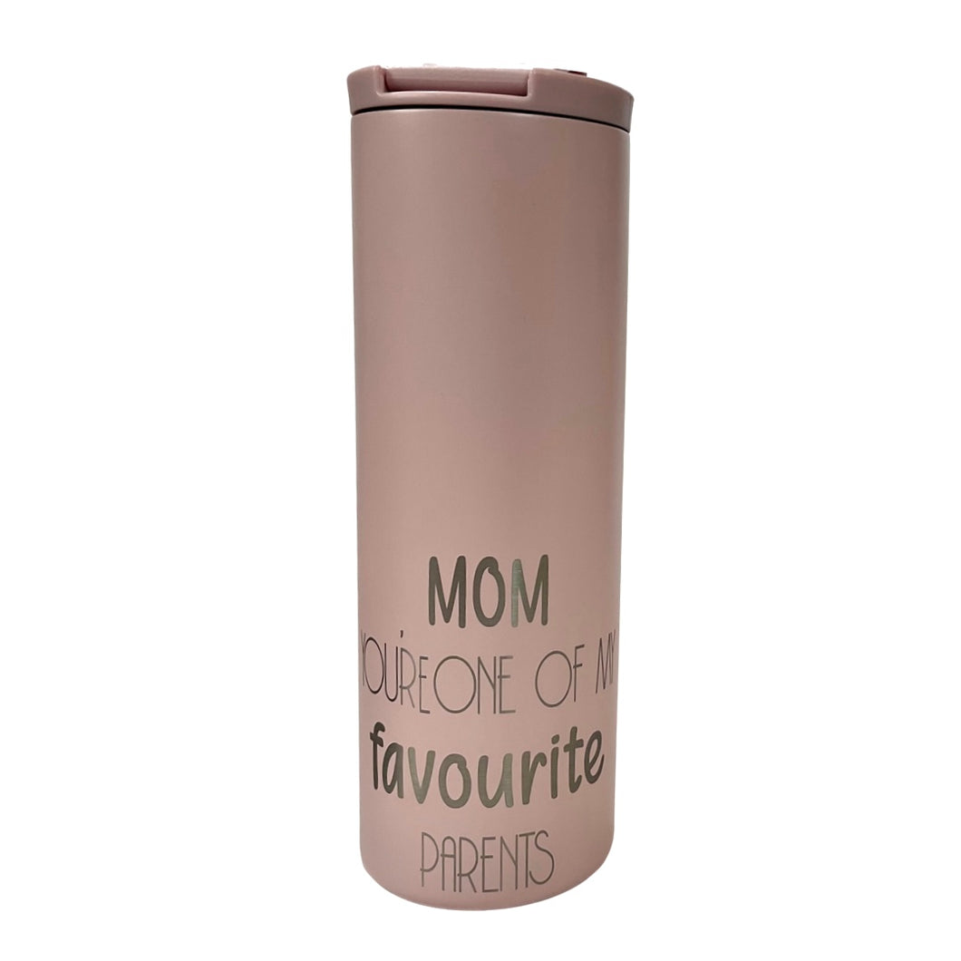 Travel Mug - Mom You're One of My Favourite Parents