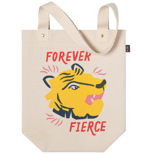 Fierce Canvas Tote Bag